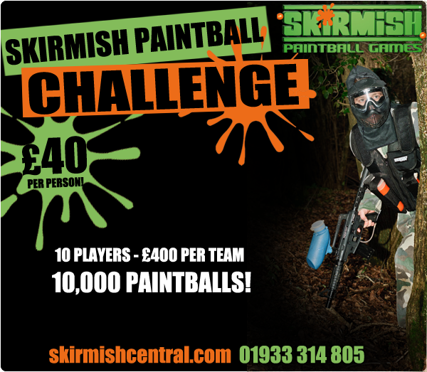 Paintball Competition Northampton