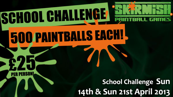 School Challenge Paintball