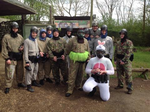 paintballing stag do in milton keynes