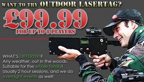 Skirmish Central Laser Tag SPECIAL OFFER