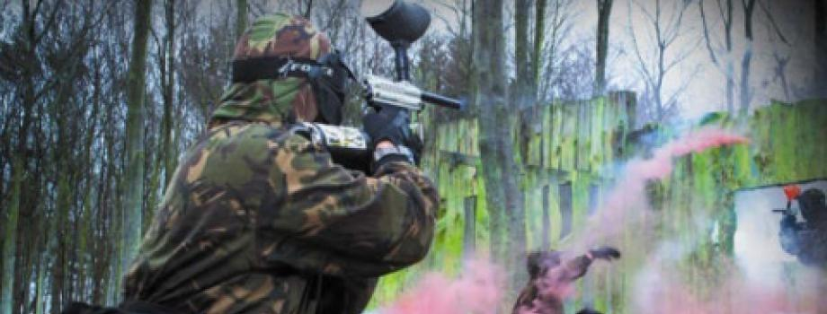 pyrotechnics at northampton paintball
