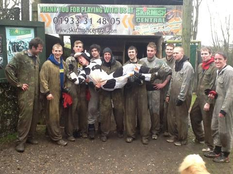 Ben Smiths 'Shoot the Cow' stag party